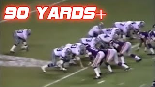 Download Longest Runs in NFL History (90+ yards) Video