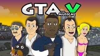 Download ♪ GRAND THEFT AUTO 5 THE MUSICAL - GTA V Rap Parody Video