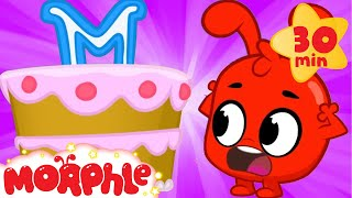 Download Morphle And The Cake - My Magic Pet Morphle   Cartoons For Kids   Morphle TV   Mila and Morphle Video