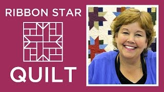 Download Make an Easy Ribbon Star Quilt with Jenny Doan of Missouri Star! (Video Tutorial) Video