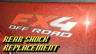 Download 1997-2004 Ford F-150: Rear Shock Replacement Video