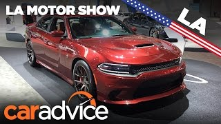 Download 2017 Dodge Charger Hellcat | 2016 Los Angeles Motor Show Video
