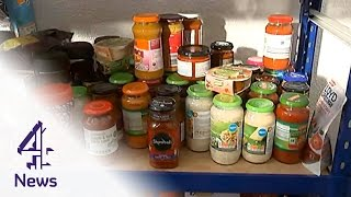 Download Feeding Britain: Food banks on the rise as 'hunger stalks the UK' | Channel 4 News Video