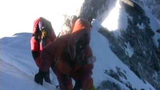 Download Climbing Hillary Step on Everest Video