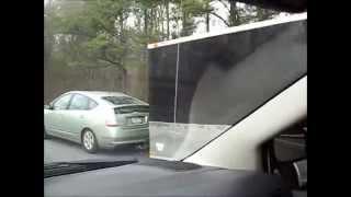 Download Prius Towing a Trailer or Trailer Pushing Prius Video