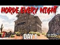 Download 7 Days To Die - Horde Every Night (Day 1) Video