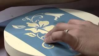 Download Caixa com Pintura Decorativa por Marisa Magalhães - 30/08/2013 - Mulher - Parte 1/2 Video
