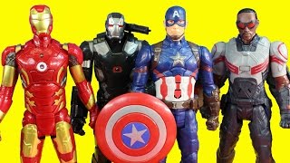 Download Marvel Avengers Iron Man & War Machine Battle Captain America Civil War And Marvel's Falcon Video