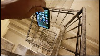 Download Dropping an iPhone XS Down Crazy Spiral Staircase 300 Feet - Will It Survive? Video