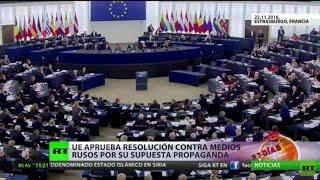Download Rusia califica de ″hipocresía″ la resolución del Parlamento Europeo contra medios rusos Video