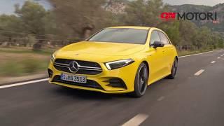 Download Mercedes AMG A 35, prova su strada. Performance car per tutti i giorni Video