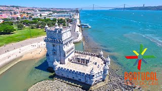 Download Lisbon aerial view - Lisboa vista do céu Video