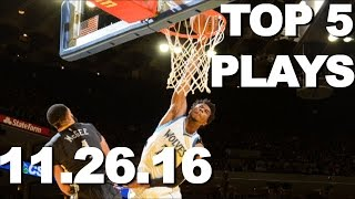 Download Top 5 NBA Plays: 11.26.16 Video