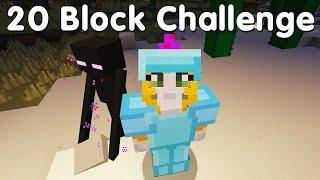 Download Minecraft PS4 - 20 Block Challenge - Lucky Train (35) Video