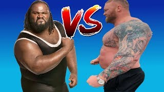 Download Mark Henry VS Hafthor ″The Mountain″ Bjornsson PED Use Video