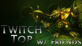 Download League of Legends - Twitch Top with Friends - Full Game Commentary Video
