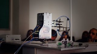 Download Building SCARA Robot Arm pick and place using vision system Video