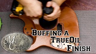 Download How to polish a True Oil finish on a guitar. Video