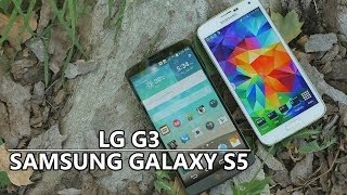 Download LG G3 vs Samsung Galaxy S5 Video