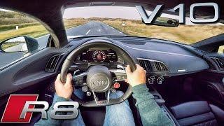 Download Audi R8 V10 PLUS POV Test Drive 610 HP 5.2 FSi Video