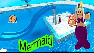 Download Baby Mermaid Pool + I'm A Pirate - Cookieswirlc Let's Play Roblox Online Game Play Video