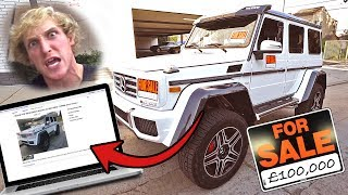 Download I PUT MY BROS NEW CAR UP FOR SALE **HE FREAKED** Video