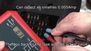 Download How to test fuses and locate parasitic current quickly without removing the fuses? Video