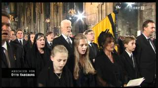 Download Kaiserhymne - Requiem für Otto von Habsburg, Trauergottesdienst in Wien, 16. Juli 2011AD Video