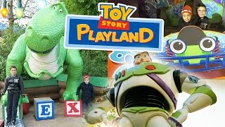Download VLOG - JOUETS GÉANTS & ATTRACTIONS à TOY STORY PLAYLAND - Disneyland Paris Video