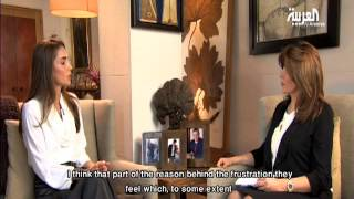 Download Queen Rania Interview with Al Arabiya - Part 1 (English Subtitles) Video