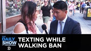 Download New York's Proposed Ban on Texting While Walking | The Daily Show Video