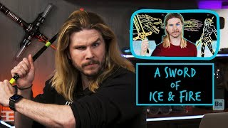 Download A Sword of Ice and Fire | Because Science Footnotes Video