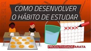 Download Como desenvolver o hábito de estudar todo dia? | Produtividade Arata 21 Video