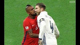 Download Arturo Vidal VS Sergio Ramos ● Bad Boys [LET'S FIGHT] Video