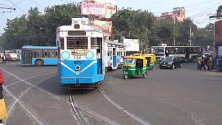 Download Kolkata Tram route 24/29 Tollygunge - Ballygunge Video