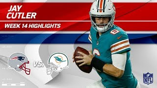 Download Jay Cutler Gets the Win w/ 3 TDs & 263 Yards! | Patriots vs. Dolphins | Wk 14 Player Highlights Video