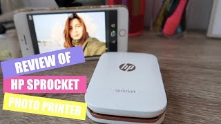 Download HP SPROCKET PHOTO PRINTER (sample pictures and review of the quality) Video