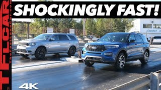 Download Ford Explorer ST vs Dodge Durango SRT Drag Race - Can a $600 Tune Beat America's Fastest 3-Row SUV? Video