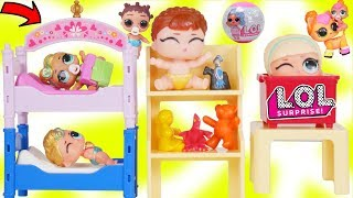 Download Lil Luxe Play Dress up in New Princess Room with LOL Surprise Dolls Boy Punk Boi Video