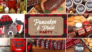 Download Pancakes & Plaid Party | Holiday Brunch Ideas Video