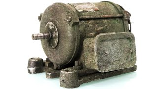 Download Old Electric Motor Restoration Video