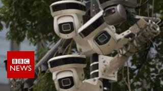 Download China has been building what it calls ″the world's biggest camera surveillance network″ - BBC News Video