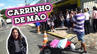 Download BUSQUEI MINHA IRMÃ NA ESCOLA DE CARRINHO DE MÃO!! Video
