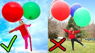 Download WILL THIS WORK?? (FLOATING WITH GIANT BALLOONS) Video