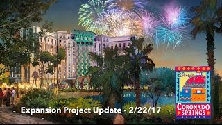 Download Disney's Coronado Springs Resort Expansion Update - 2/22/17 - Walt Disney World Video