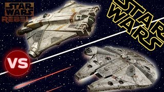 Download Millennium Falcon vs The Ghost | Star Wars: Who Would Win Video