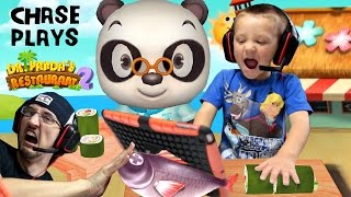 Download Chase plays Dr. Panda's Restaurant 2!! Cooking Food for Picky Dudes w/ FGTEEV Duddy | KIDS iOS APP Video