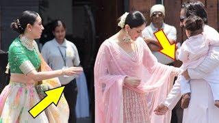 Download Saif Ali Khan Gets Angry On Kareena Kapoor Khan At Sonam Kapoor's Wedding Ceremony Video