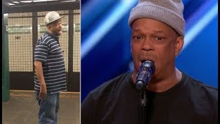 Download The Viral NYC Subway Singer FINALLY Get's The Stage He Deserves | America's Got Talent 2017 Video
