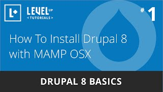 Download Drupal 8 Basics #1 - How To Install With MAMP OSX Video